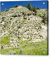 Cliff Side Panorama Acrylic Print