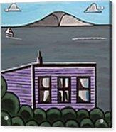 Cliff Top Acrylic Print