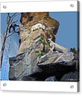 Cliffhanger Acrylic Print