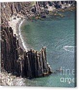 Cliffs At Grand Manan Island, Canada Acrylic Print