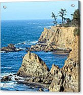 Cliffside Oceanview Acrylic Print