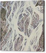 Cline River Showing Heavy Siltation Acrylic Print