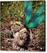 Clippy's Spring Wings Acrylic Print