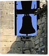 Clocher De Lourmarin Village Du Luberon Acrylic Print by Bernard Jaubert