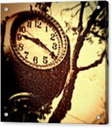 Clock In San Francisco  Acrylic Print