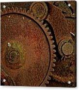 Clockwork Rust Acrylic Print by Odd Jeppesen