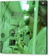 Cloning Research Acrylic Print