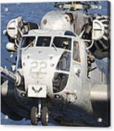Close-up Of A Ch-53 Sea Stallion Acrylic Print