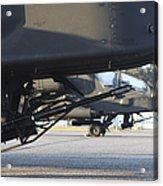 Close-up View Of The M230 Chain Gun Acrylic Print