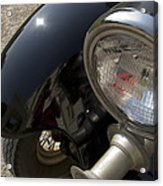 Close View Of The Headlight Acrylic Print