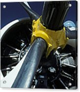 Closeup Of A Military Grumman Tracker Acrylic Print