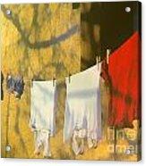 Clothing Acrylic Print by Odon Czintos