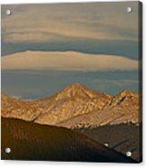 Cloud Cap Acrylic Print
