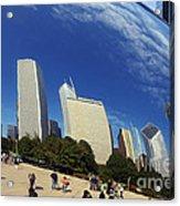 Cloud Gate Millenium Park Chicago Acrylic Print