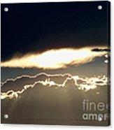 Cloud Lines Acrylic Print