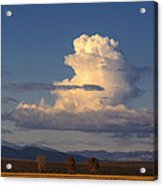 Cloud Over San Luis Valley Acrylic Print