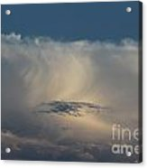 Cloud Softness Acrylic Print