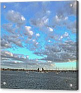 Cloud View From The Old Fort Acrylic Print