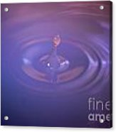 Clouded Droplet Acrylic Print