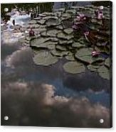 Clouded Pond Acrylic Print