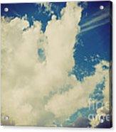 Clouds-7 Acrylic Print