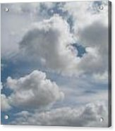 Clouds Are Alove Acrylic Print