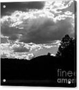 Clouds At Dusk Acrylic Print