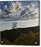 Clouds At Sunset II Acrylic Print