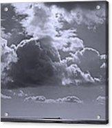 Clouds Gathering Acrylic Print