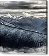 Clouds In The Valley Acrylic Print