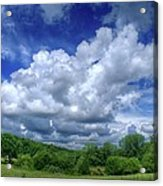 Clouds Acrylic Print by Matthew Green