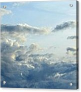 Clouds Of Blue Acrylic Print