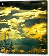 Clouds Of Many Colors Acrylic Print