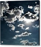 Clouds On A Sunny Day Acrylic Print