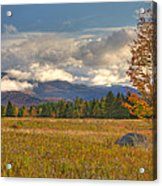 Clouds Over Algonquin Mountain Acrylic Print