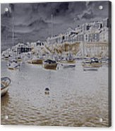 Clouds Over Brixham Acrylic Print