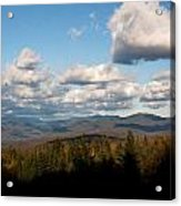 Clouds Over New Hampshire Acrylic Print