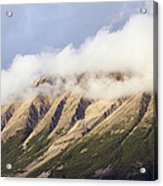 Clouds Over Porphyry Mountain Acrylic Print