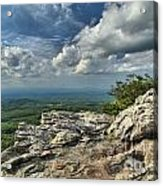 Clouds Over The Cliff Acrylic Print