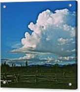 Clouds Over The North Forty Acrylic Print