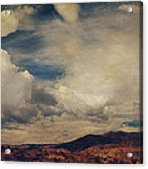 Clouds Please Carry Me Away Acrylic Print