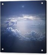 Clouds Sunlight Breaking Through Clouds Acrylic Print