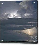 Cloudy Horizon Acrylic Print