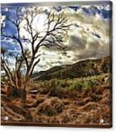 Cloudy Valley  Acrylic Print