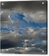 Cloudy With A Chance Acrylic Print
