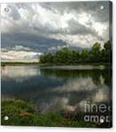 Cloudy With A Chance Of Paint 1 Acrylic Print