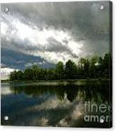cloudy with a Chance of Paint 4 Acrylic Print