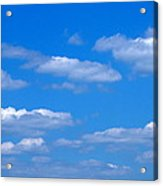 Cloudy With A Chance Of Sky Acrylic Print