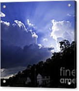 Cloudy With A Chance Of Sunshine Acrylic Print
