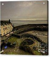Clovelly Harbour Acrylic Print
